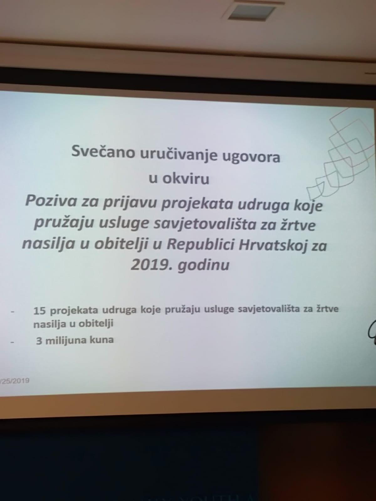 """Udruga ZvoniMir u Ministarstvu za demografiju, obitelj, mlade i socijalnu politiku potpisala je ugovor za projekt """"Korak hrabrosti"""""""
