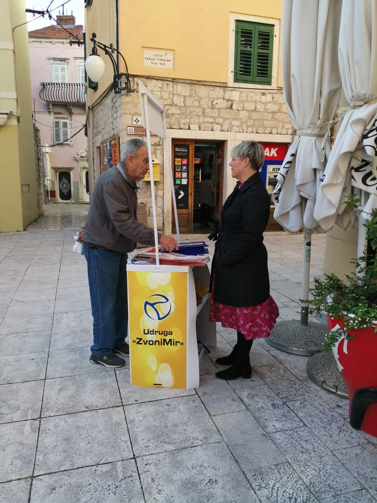 Javnim akcijama u Šibeniku i Kninu obilježili smo Međunarodni dan borbe protiv nasilja nad ženama