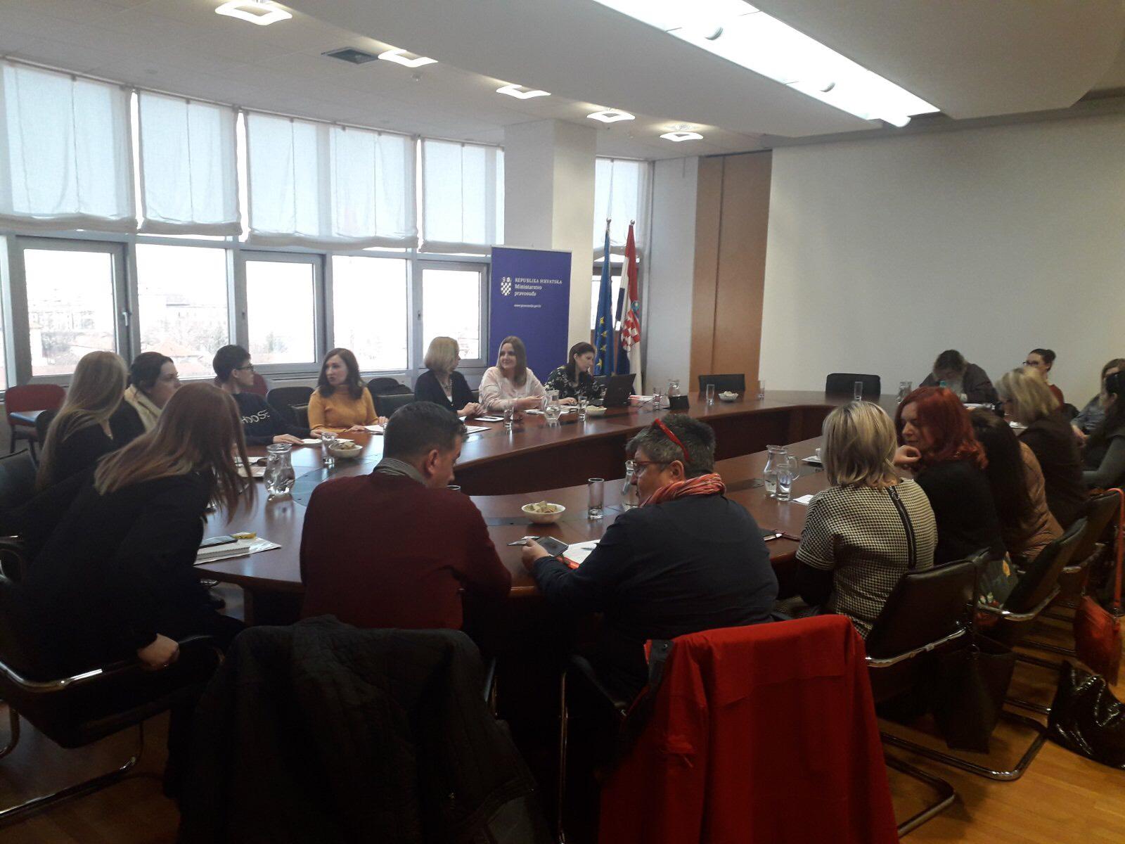 Sastanak u sklopu podrške žrtvama i svjedocima kaznenih djela